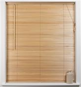 Universal Hardwood 27mm Slat Venetian Blind, Natural