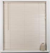 Universal Hardwood 27mm Slat Venetian Blind, Cream