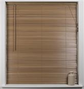 Universal Hardwood 27mm Slat Venetian Blind, Oak