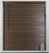 Universal Hardwood 27mm Slat Venetian Blind, Walnut
