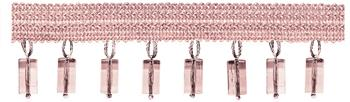 Jones Principal Beaded Fringe, Blush