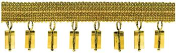 Jones Principal Beaded Fringe, Gold