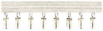 Jones Principal Beaded Fringe, Ivory