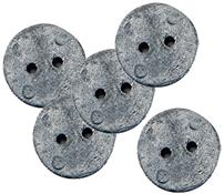 Hallis Lead Penny Weights 25mm