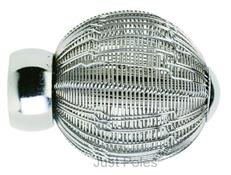 Swish 28mm Wire Ball Finial, Chrome